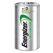 Rechargeable Nickel Hydride Battery - D, HR20 - pack of 2