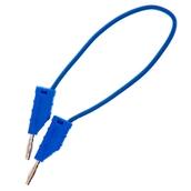 2mm Stackable Plug Lead: Blue, 150mm
