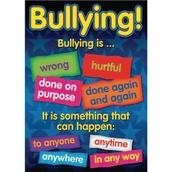 Bullying Poster Set - Pack of 6
