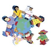 Wooden Children of the World Puzzle