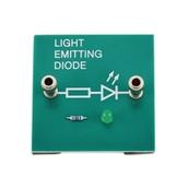 Simple Circuit Module: Green LED Board