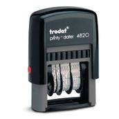 Trodat 4820 Line Dater Self-Inking Stamp