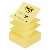 Post-it® Z-Notes - Canary Yellow - 76 x 76mm - Pack of 12