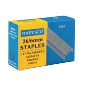 Rapesco Staples26/6mm - Pack of 5000