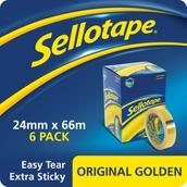 Sellotape Original - 24mm x 66m - Pack of 6