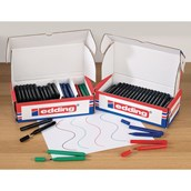 Edding 366 Mini Whiteboard Marker Assorted, Bullet Tip - Pack of 100