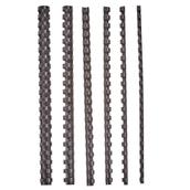 Plastic Binding Combs 6mm - Black - Box of 250