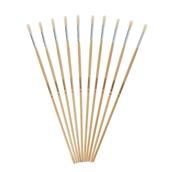 Classmates Long Round Paint Brushes - Size 8 - Pack of 10