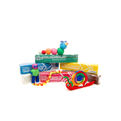 Colour Clay - 500g - Assorted Colours - Pack of 6