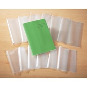 A4 Book Covering, Clear - Pack of 50