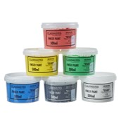 Classmates Finger Paints - 500ml - Solid Colours - Pack of 6