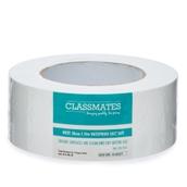 Classmates Cloth Tape White Waterproof  50mm 50m