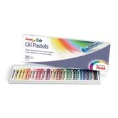 Pentel Arts Oil Pastels - Pack of 25