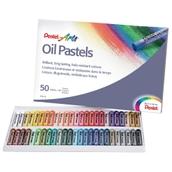 Pentel Arts Oil Pastels - Pack of 50