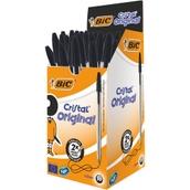 Bic Cristal Ballpoint Pen Black - Pack of 50