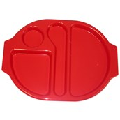 Harfield Meal Tray - Large - Red