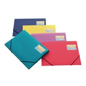 Rapesco 3 Flap Portfolio Wallet A4+ Assorted - Pack of 5