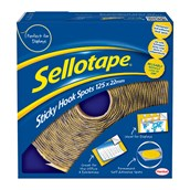 Sellotape® Hook Spots - 22mm - Pack of 125