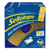Sellotape® Hook & Loop Strip - 20mm x 6m