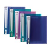 Snopake Electra Display Book A4 Assorted - 24 Pockets - Pack of 10