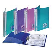 Snopake Clamp Binder A4 Assorted - Pack of 10