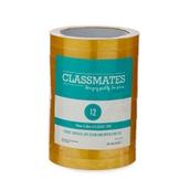 Classmates Golden Tape - 12mm x 66m - Pack of 12
