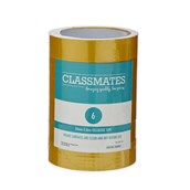 Classmates Golden Tape  25mm 66m - Pack of 6