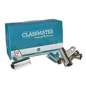 Classmates Letter Clips Silver 70mm - Pack of 10