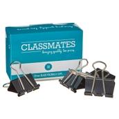 Classmates Fold Back Clip  Black 32mm - Pack of 10