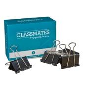Classmates Fold Back Clip  Black 50mm - Pack of 10