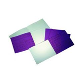 """6x8"""" Handwriting Book 32 Page, 4mm / 15mm Ruled, Purple - Pack of 100"""