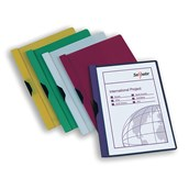 Snopake Clip File A4 Assorted - Pack of 5