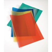 A4 Book Covering, Assorted Colours - Pack of 25