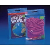 A4 Blue Zip Book Bags - Pack of 25