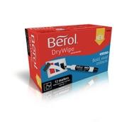 Berol Whiteboard Marker Black, Bullet Tip - Pack of 12