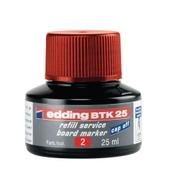 Edding BTK25 Whiteboard Refills Red