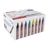 Edding 360 Whiteboard Marker Assorted, Bullet Tip - Pack of 50