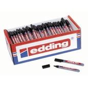 Edding 361 Whiteboard Marker Pens Black, Fine Tip - Pack of 200