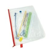 Heavy Duty Zip Wallet AX Assorted - Pack of 5