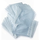 Classmates Punched Pocket A4 Clear - Pack of 100