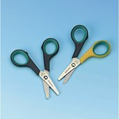 Soft Grip School Scissors - Right Handed - Pack of 12