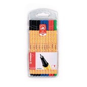 Stabilo Point 88 Fineliner Pen Assorted - Pack of 10