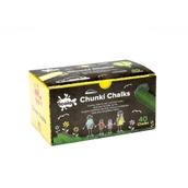 Chunki Chalk - White - Pack of 40