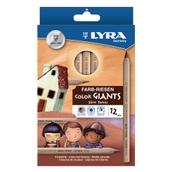 Lyra Color Giants Skin Tones Colouring Pencils