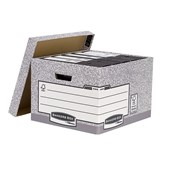 Large Storage Box - Grey/White