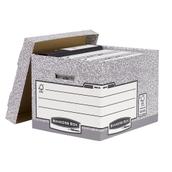 Standard Storage Box - Grey/White