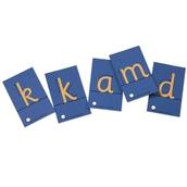 Tactile Sandpaper Letters Cursive - Pack of 28