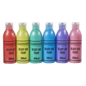 Classmates Ready Mixed Paint - 300ml - Pearlescent - Pack of 6
