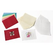 Binkamat Sheets Cream - Pack of 10
