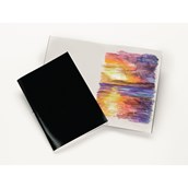 Laminated Stapled Sketchbooks - A4